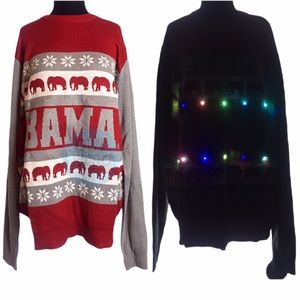 Alabama Light-Up Christmas Sweater